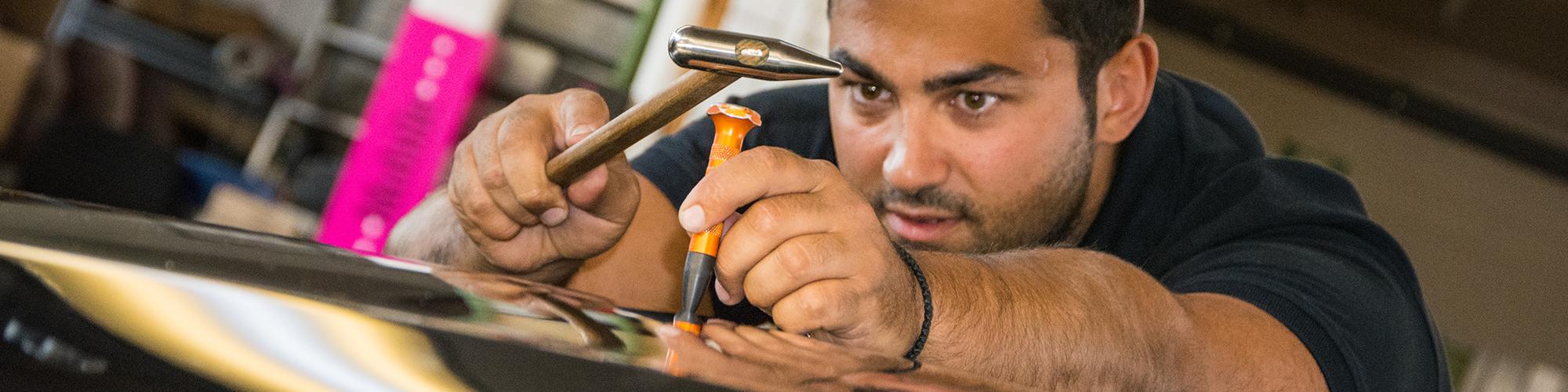 Ausbeulen lackierfrei schonend Smart Repair